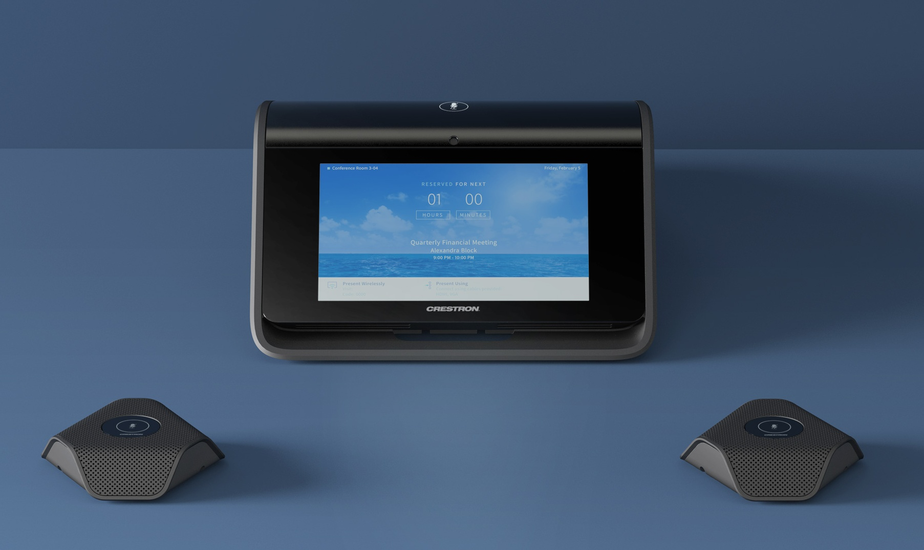 crestron video conferencing is now in their portfolio  the