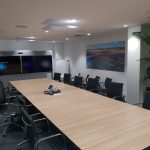 Bouygues Cisco Dual Room 70 with ceiling mics