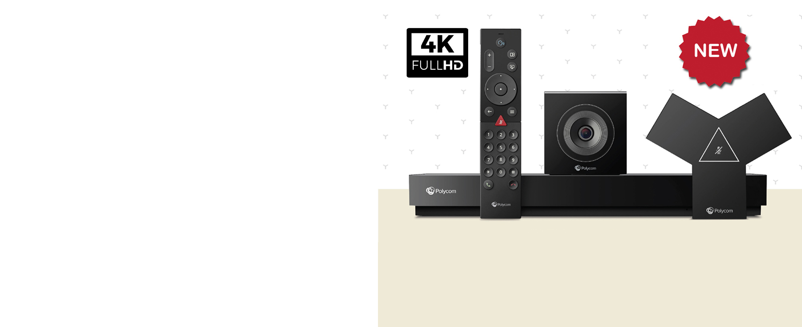 The new Poly G7500 Video Conferencing and Collaboration System