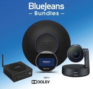 bluejeans dolby bundle with Logitech Rally